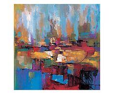 Stampa fine art su canvas con telaio in legno Senza titolo - 70x70x4 cm