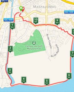 Canario, Bungalows, Map, Maspalomas, Walking, Trekking, Parks, Pictures, Location Map
