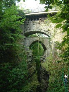 Devil's Bridge, near Aberystwyth, Wales