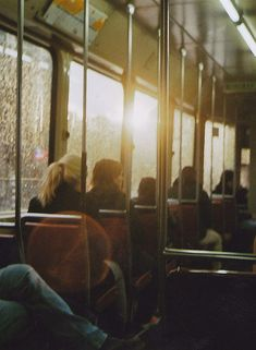 early morning bus ride.