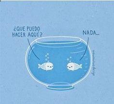 Spanish jokes for kids, chistes visuales. Spanish words: word play nada. #learn $spanish #kids #jokes