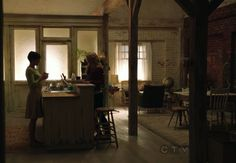 Once Upon A Time: Mary Margaret and Emma's apartment. Can I live here please??