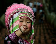 Hill tribe girl