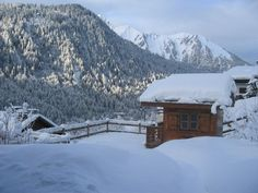 Photograph gallery of the luxury ski chalet, La Grange au Merle, by Clarian Chalets. Includes views over the charming ski resort village of Chatel. Alpine Chalet, Ski Chalet, Merle, Winter Garden, Skiing, Luxury, Gallery, Barn, Ski