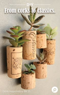 If you have a bowl full of wine corks and some spare time, you can create the kind of art that party guests love to admire. From bathmats to candle holders to planters, a little imagination and a lot of corks can create magic—and reasons to buy more bottles.