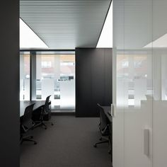 Meeting room, PBS office in Barcelona by Spanish architect Francesc Rife _