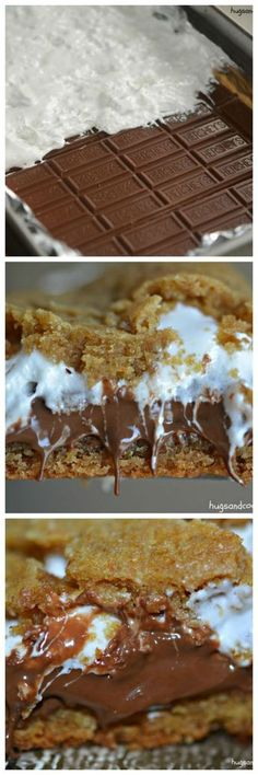 Sinful Smores Bars-OMG!!!!!!