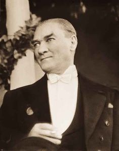 Mustafa Kemal Atatürk First President of Turkey Republic Of Turkey, The Republic, Blond, The Turk, How To Create Infographics, Image Categories, Great Leaders, Picture Description, Image Title