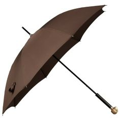 Burberry Owl Handle Walking Umbrella ($850) ❤ liked on Polyvore