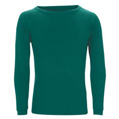 Adults Merino L/Sleeve Crew neck Top: Teal Outdoor Gear, Teal, Crew Neck, Turtle Neck, Sleeves, Sweaters, Clothes, Products, Fashion