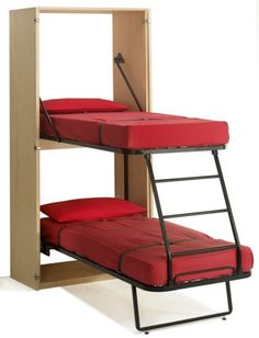 Murphy bed - bunkbed style