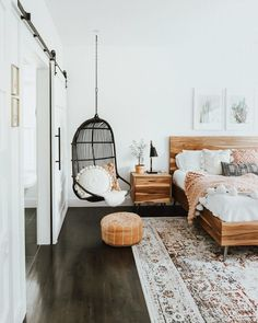 Room Ideas Bedroom, Small Room Bedroom, Home Decor Bedroom, Bedroom Modern, Küchen Design, Interior Design, Modern Interior, House Design, Cute Room Decor