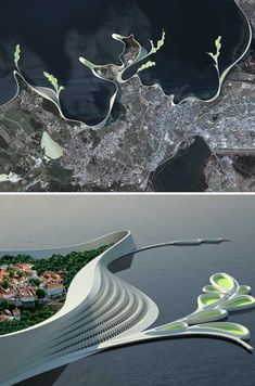 HydroLine - a concept for the coastline of Tallinn, Estonia - Imgur