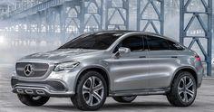 Mercedes-Benz Coupé SUV Concept: El rival del BMW X6 | QuintaMarcha.com