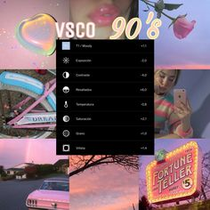Shared by BieberQueen. Find images and videos about vsco, filter and app on We Heart It - the app to get lost in what you love. editing Image about vsco in ᴠꜱᴄᴏ ғɪʟᴛᴇʀꜱ by ˗ˏˋℓυηαˎˊ˗ Foto Filter, Old Photo Filter, Fotografia Vsco, Vsco Hacks, Best Vsco Filters, Free Vsco Filters, Summer Filters Vsco, Vsco Effects, Photo Editing Vsco