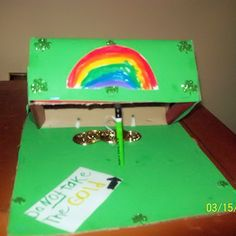 lepercon traps | This leprechaun trap was made by 6-year-old Alex from Richmond, VA.