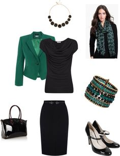 """True Winter Dramatic Classic 10 pieces # 8"" by sm137 on Polyvore"