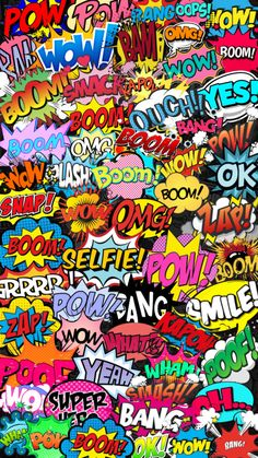 Hero Of The Day, Hearly Quinn, Action Words, Marvel Wallpaper, Boy Room, Aesthetic Wallpapers, Pop Art, Backgrounds, Scrapbooking