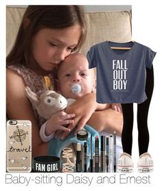 """""""Baby-sitting Daisy And Ernest"""" by hazzgirl03 ❤ liked on Polyvore"""