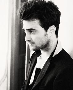 """Daniel Radcliffe  """"[On Film] It was what I grew up in,"""" he explains, """"I feel like if I had to do one thing forever, that would be it"""""""