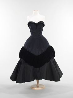 """Pouff""  Charles James  (American, born Great Britain, 1906–1978)  Manufacturer: Samuel Winston, Inc. (American) Date: 1952"