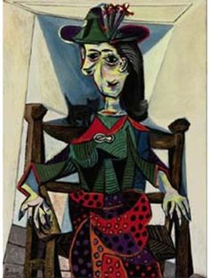 Dora Maar com o gato, por Pablo Picasso (US $95.200.000)