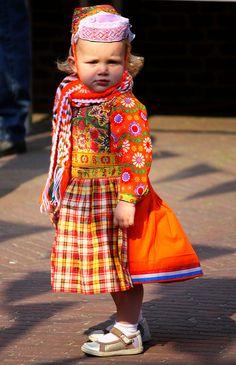 Queensday dress from Marken,Holland