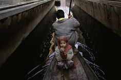 Steve McCurry, Father and Daughter on Boat, 1996, C-type print on Fuji Crystal Archive paper