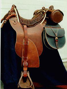 Hope Saddle Civil War   Confederate Officer's Saddle