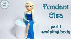 Tutorial for fondant Elsa, this is a first part where I show how to make her body, in the second part I make her head. Subscribe to my youtube channel if you like my work and want to see more videos like this :)