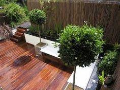 Garden Design Terraced House sketch of green and natural terrace garden design ideas