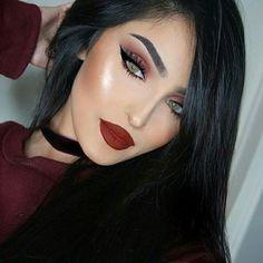 24 Gorgeous Makeup Looks Ideas to Inspire You Sexy Makeup, Full Face Makeup, Flawless Makeup, Gorgeous Makeup, Pretty Makeup, Simple Makeup, Beauty Makeup, Makeup Looks, Hair Makeup