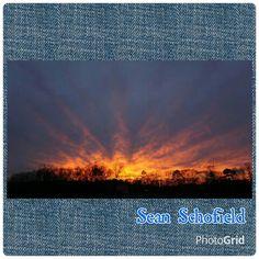 2/4/15 North Alabama Sunset.  Photographer credit: Sean Schofield