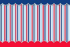 Náutico: Invitaciones y Etiquetas para Candy Buffet para Imprimir Gratis. Digital Scrapbook Paper, Kit Scrapbook, Framed Wallpaper, Striped Wallpaper, Cute Wallpaper Backgrounds, Bee Party, Party Kit, Printable Play Money, Circo Do Mickey