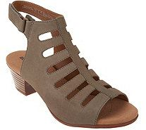 3a1800b53cb Clarks Leather High Heel Sandal - Adriel Elaina