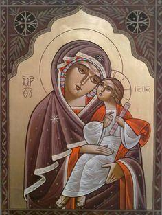 Theotokos Icon by Dr Stephane Rene