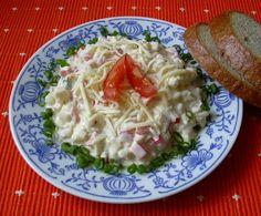 Sýrový salát :: Domací kuchařka - vyzkoušené recepty Grains, Salads, Treats, Food, Rezepte, Sweet Like Candy, Essen, Salad, Chopped Salads