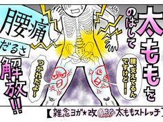 腰痛の新原因…パンパンに張った「タイトハム」を攻略せよ!