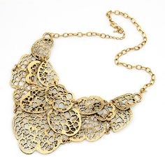 Asujewlery.com Offers High Quality Patagonia Bronze Hollow Out Pendant Alloy Korean Necklaces,Priced At Only US$1.73(Free Shipping)