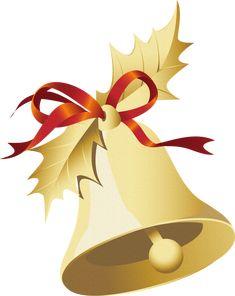 adorno campana de Navidad
