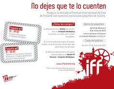 Ya están a la venta los boletos del Festival de Cine de Panamá --> aqui la info