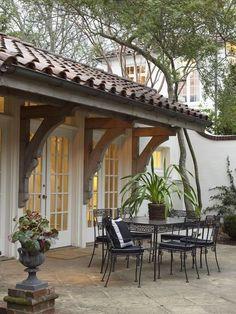 Back patio | Birmingham Alabama Architects Ben Shepard and Darla Davis
