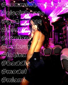 #comment4comment #nicoleboo24 #gozándose #beautiful #explore #makeup #latina #baddie #model #miami #cutie #vida #ootd #laGozándose La Vida 😈🔥 • • • • Model : @nicole_boo24 • • • •Gozándose La Vida 😈🔥 • • • • Model : @nicole_boo24 • • • • Latina, Miami, Baddies, Ootd, Beautiful, Concert, Makeup, Model, Movie Posters