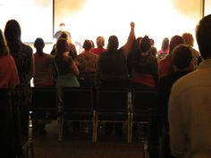 You are Made To Shine! Girls at the Wichita event shouting it out. #madetoshinetheevent www.sonflowerz.com