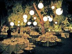 Decoraciones colgantes para bodas