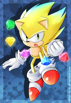 I unlocked something awesome in Sonic Colors~! I want to get out of this art block more than anything. =< I wanted to design Super Sonic a bit differ. Sonic The Hedgehog, Hedgehog Movie, Hedgehog Art, Silver The Hedgehog, Hedgehog Colors, Sonic 3, Sonic And Amy, Sonic Fan Art, Kids Cartoon Characters