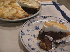 Chocolate Meringue Pie i-spy-a-pie