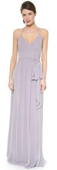 Joanna August DC Halter Wrap Dress on shopstyle.com