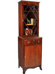 Mahogany Bookcase - Antiques Atlas