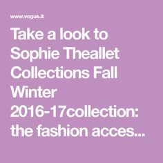 Take a look to Sophie Theallet Collections Fall Winter the fashion accessories and outfits seen on New York runaways. Sophie Theallet, Velvet Glove, Velvet Ankle Boots, Fall Winter 2014, Spring Summer 2018, Fashion Accessories, Vogue, Collections, York